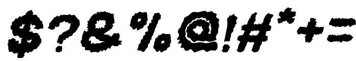 BEARD Rider Italic Font OTHER CHARS