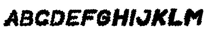 BEARD Rider Italic Font UPPERCASE