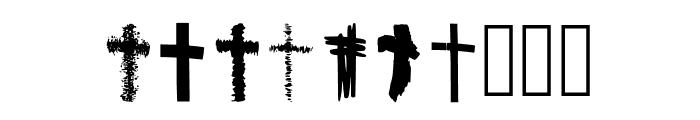 BM Graphics Christian Cross Font OTHER CHARS