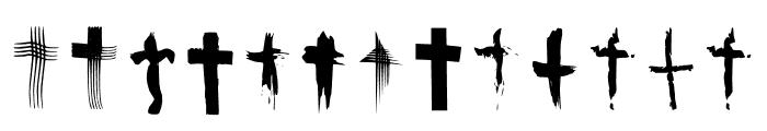 BM Graphics Christian Cross Font LOWERCASE