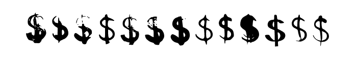 BM Graphics Euro Symbol Font UPPERCASE
