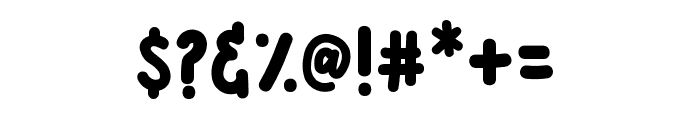 BONANZA FUNNY Font OTHER CHARS