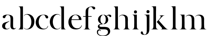 BOSQUE Font LOWERCASE