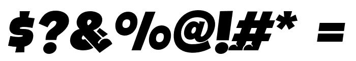 BOTOTOITALIC Font OTHER CHARS