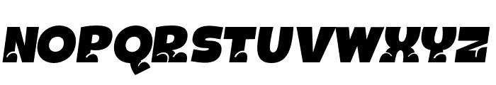 BOTOTOITALIC Font UPPERCASE