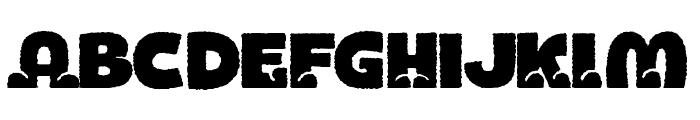 BOTOTOROUGH Font UPPERCASE