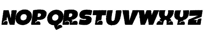 BOTOTOROUGHITALIC Font UPPERCASE