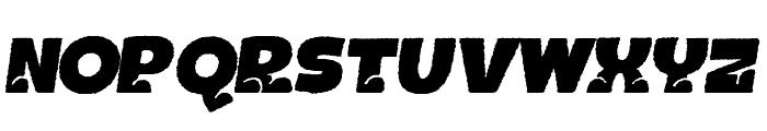 BOTOTOROUGHITALIC Font LOWERCASE