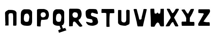 BOWL-LayerOne Font LOWERCASE