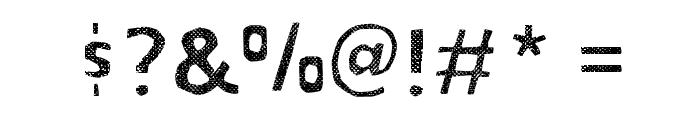 BOWL-LayerThree Font OTHER CHARS