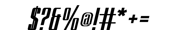 BRANCHE Italic Font OTHER CHARS