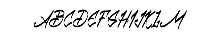 Babball Regular Font UPPERCASE