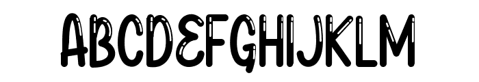 Baby Balloon Group Font UPPERCASE