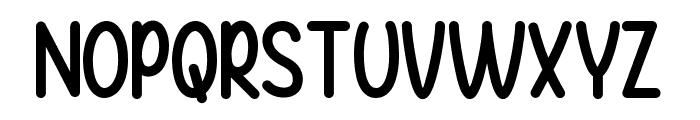 Baby Balloon Font UPPERCASE