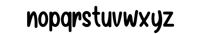 Baby Balloon Font LOWERCASE