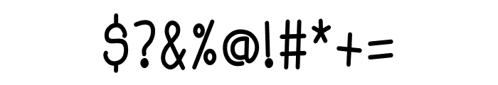 Baby Monkey Font OTHER CHARS