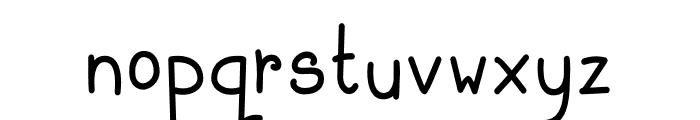 Baby Monkey Font LOWERCASE