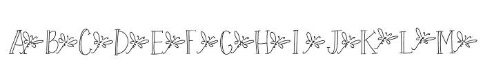 BabyDragonfly Font UPPERCASE