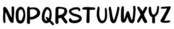 BabyStuff Font UPPERCASE