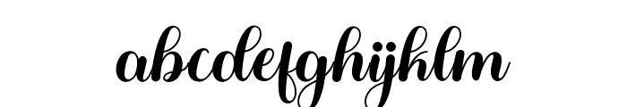 BabySweetHoliday Font LOWERCASE