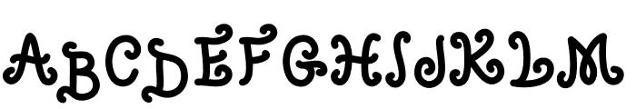 Babylon Font UPPERCASE