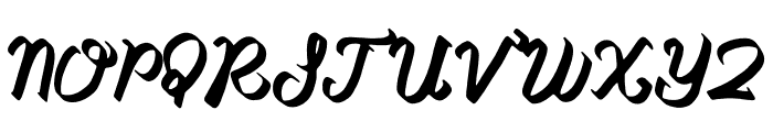 Babylonya Font UPPERCASE