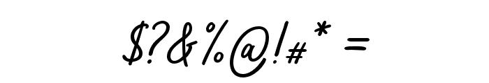 Bahagia Font OTHER CHARS