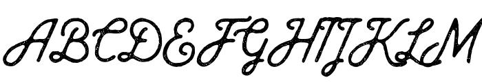 Baheula Vintage Font UPPERCASE
