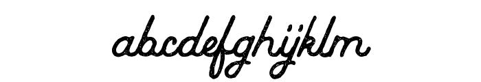 Baheula Vintage Font LOWERCASE