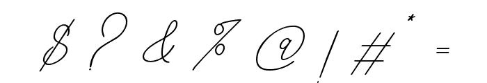 BahiytsahBold-Bold Font OTHER CHARS