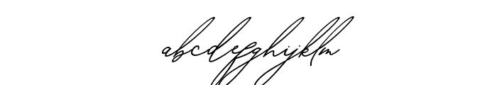 BahiytsahSlant-Italic Font LOWERCASE