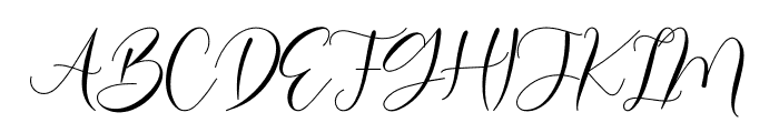 Bailey Font UPPERCASE