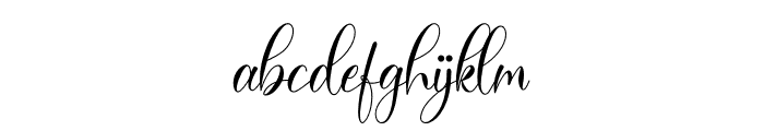 Bailey Font LOWERCASE