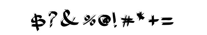 Balance Font OTHER CHARS