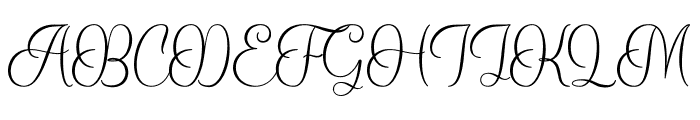 Balania Font UPPERCASE