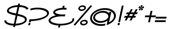 Ballado 2 Italic Font OTHER CHARS