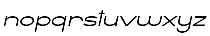 Ballado 2 Italic Font LOWERCASE