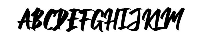 Balleho Font UPPERCASE