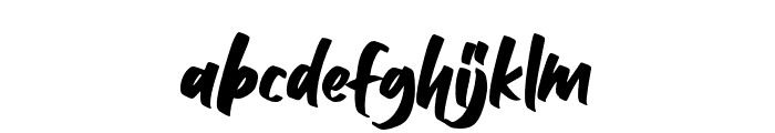Balleho Font LOWERCASE