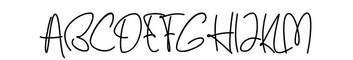 Ballerin Font UPPERCASE