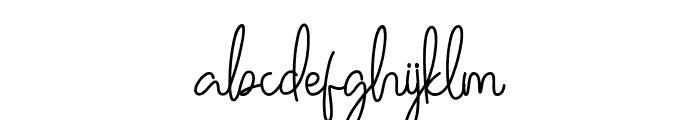 Ballerin Font LOWERCASE