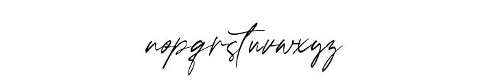 Ballerina Font LOWERCASE