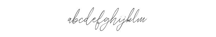 Balleys script Font LOWERCASE