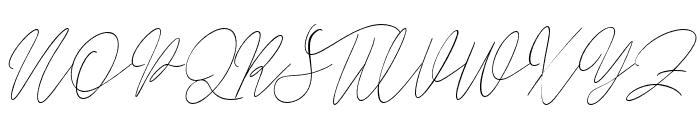 Balleysscript Font UPPERCASE