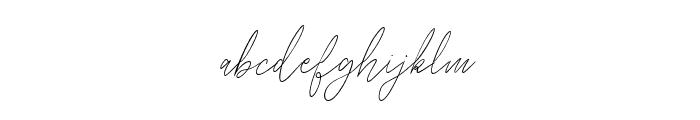 Balleysscript Font LOWERCASE