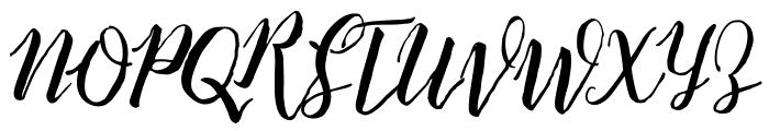 Balliget Font UPPERCASE