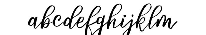 Balliget Font LOWERCASE