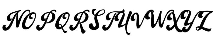Ballingtone Font UPPERCASE
