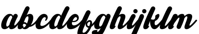 Ballingtone Font LOWERCASE