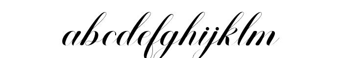BallisticScript Font LOWERCASE